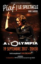 Piaf le spectacle à Olympia