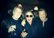 Eddy Mitchell, Jacques Dutronc et Johnny Hallyday