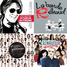 Des albums de repises de chansons françaises
